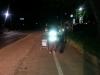 울진署, 야간보행자 교통사고 예방활동 펼쳐