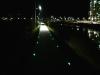 야간 산책로 밝히는 표지병 설치