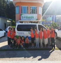 한국수력원자력(주) 드림돌봄센터에 차량기증