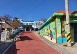 울진군 금강송면 소재지 테마가 있는 벽화거리로 새단장