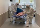 울진군의료원 요양병원 코로나19 대응 모의훈련 실시